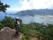 絶景の天狗倉山と熊野古道馬越峠2