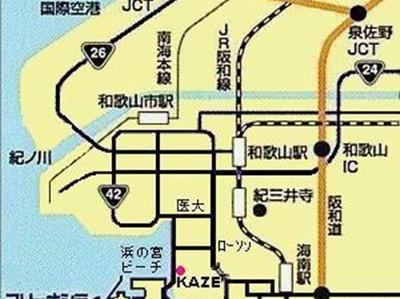 KAZEマップ