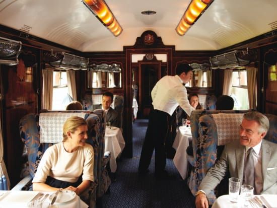 Luxury Train Day Trip from London on the Belmond British Pullman