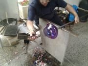 glass making workshop