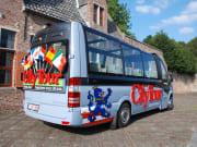 bruges, belgium, brugge, minibus, tour