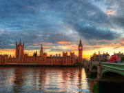 Parliament-Sunset