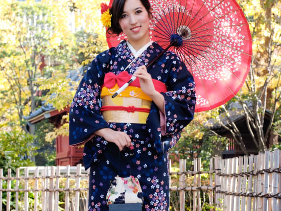 how to wear a kimono in winter