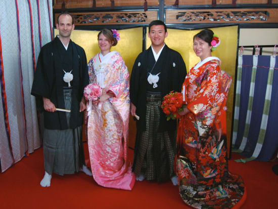 Traditional Japanese Wedding.Traditional Japanese Wedding Costume Dress Experience In Kyoto