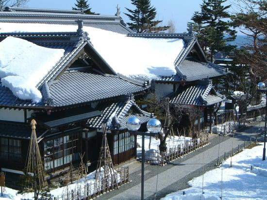 冬の青山別邸