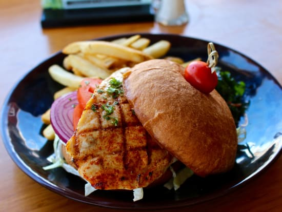Pikake Menu - Mahimahi Sandwich Photo2