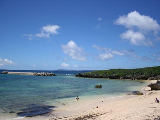 池間島情景(ビーチ)1