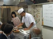 Casual sushi making class with pro instructor