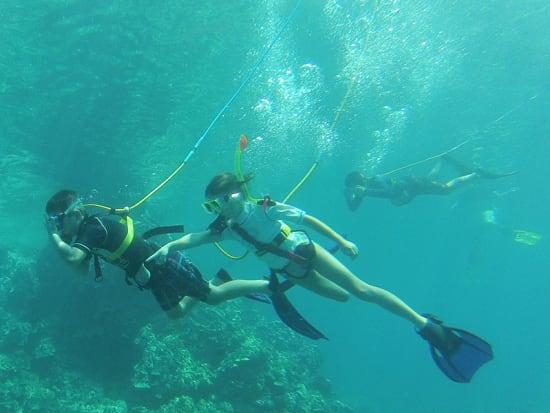 Hawaii_Maui_Excellence Charters_Snuba Diving Kids