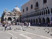 Italy Venice St Mark's Square Piazza San Marco