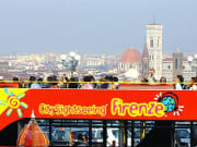 Hop-on Hop-off Bus Tour Florence Italy
