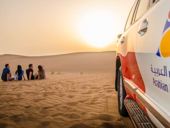 Private Sunset Desert Safari From Dubai With Unlimited Bbq Dinner