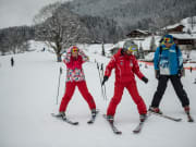 swiss alps, Jungfrau, Bernese Oberland, ski