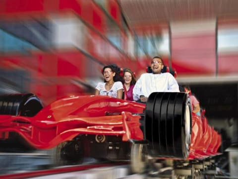 Ferrari World or Yas Waterworld Ticket with Transfers from ...