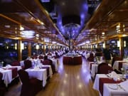 Dhaw Dubai Creek Night Cruise Interior