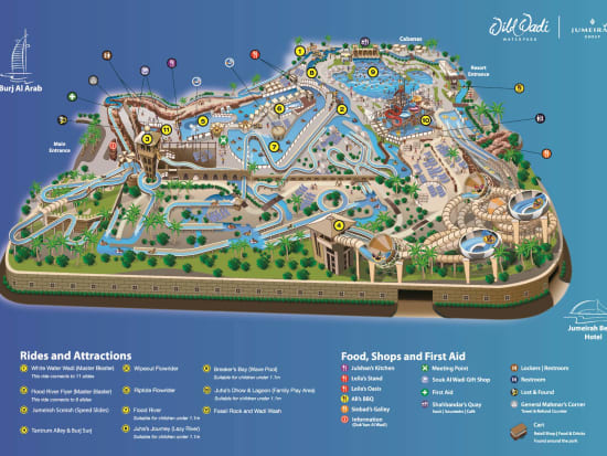 Wild Wadi_Map