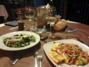 wine tasting with mediterranean lunch