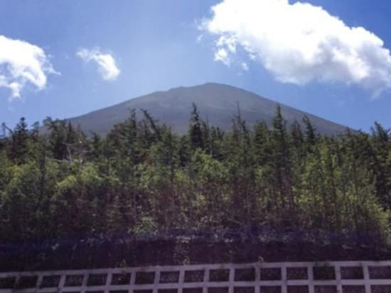 Make your way to the 5th Station of Mt. Fuji