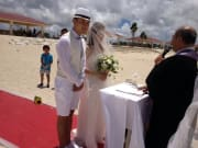 砂浜挙式6
