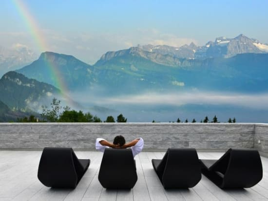 mount rigi 2 day tour from zurich with spa and wellness hotel stay