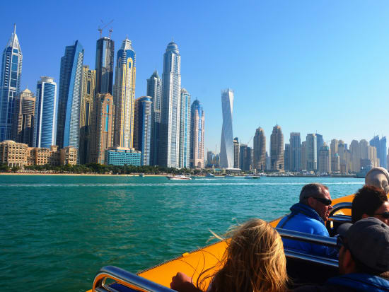 Enjoy The 60 Minute Special Evening Cruise Past The Dubai Marina Skyscrapers The New Ain Dubai And The Jbr Beachfront