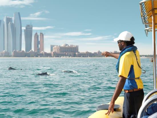 Abu Dhabi Boat Tour