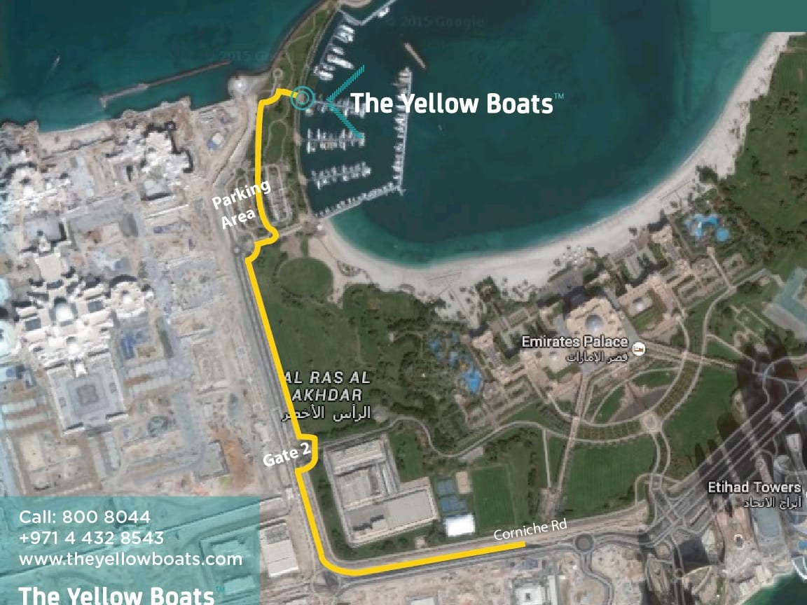 Location_The Yellow Boats Abu Dhabi