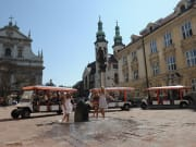 Cracow, tour, eco-vehicle, poland