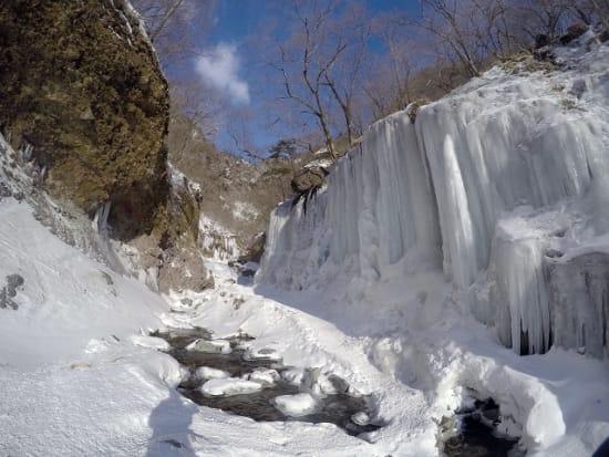氷瀑ツアー3