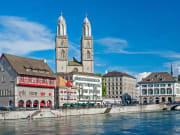 zurich, panorama, cityscape, lake, switzerland