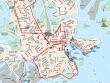 Finland, Helsinki, Hop On Hop Off, Bus, Route