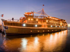 Dubai_Rustar Floating Restaurant_Dhow Ship