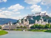 Salzburg Cathedral and Hohensalzburg Fortress