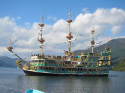 Pirate ship Hakone cruise