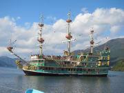 Pirate ship cruise on Lake Ashinoko