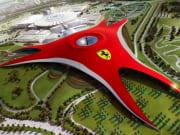 Abu Dhabi, Ferrari World, Yas Island, UAE