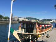屋形船からの景色