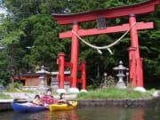 ツーリングカヤック野尻湖1日レッスン 7