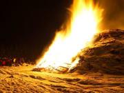 Bonfire, Iceland, celebration
