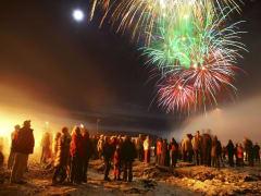 New Year's Eve Celebration, Iceland, Fireworks
