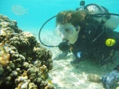 水納島 ビーチ体験ダイビング7