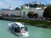 Austria, Rio Salzach, River cruise