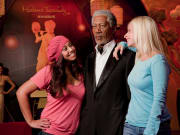 USA_Hollywood_Madame Tussauds_Morgan Freeman Wax