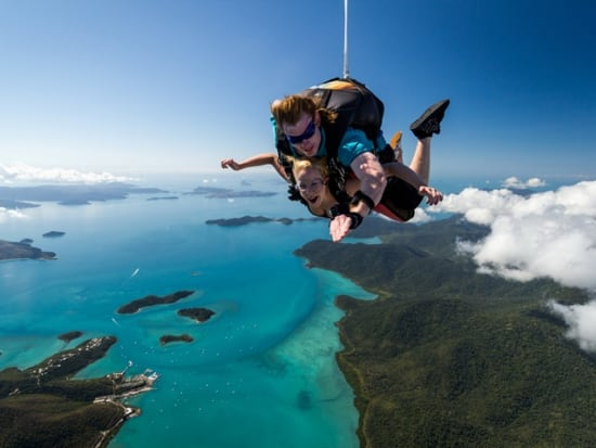 Airlie Beach Skydiving Adventure Above The Great Barrier Reef