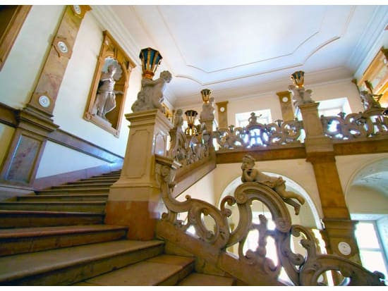 Mirabell palace baroque interiors