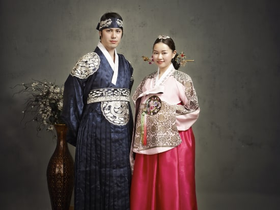 Custom All Stars >> Traditional Korean Hanbok Dressing and Photography in Myeongdong, Seoul tours & activities, fun ...