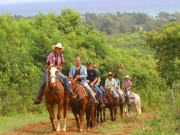 Hawaii_Oahu_Gunstock Ranch_Dinner Ride with Family