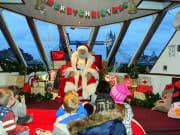 Santa Claus, London, Christmas, cruise