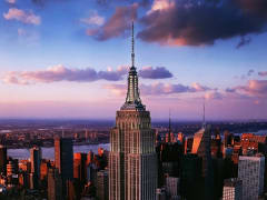 USA_New York_Empire State Building_Night