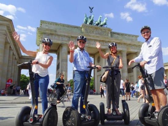 Germany, Brandenburg Gate, Berlin Segway Tour